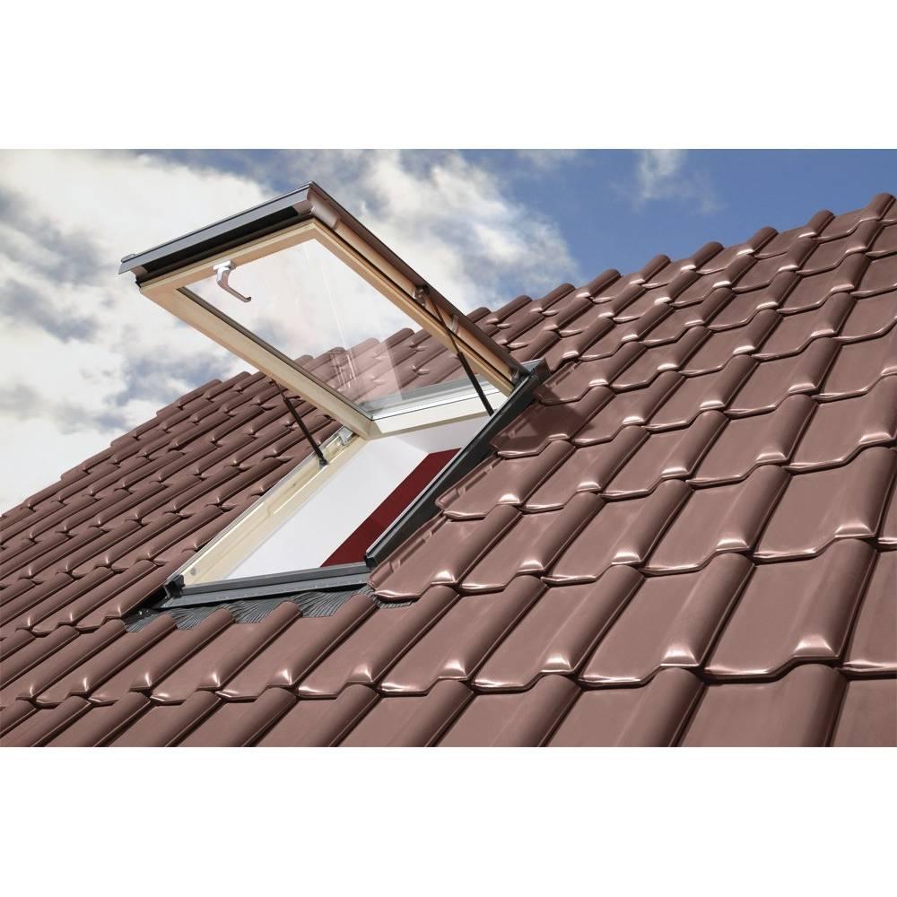 Fakro Drf 90cm X 90cm Flat Roof Access Window Triple