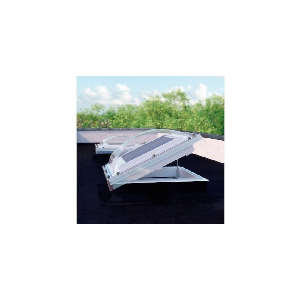 Fakro Dec 90cm X 120cm Electric Flat Roof Window Amp Kerb