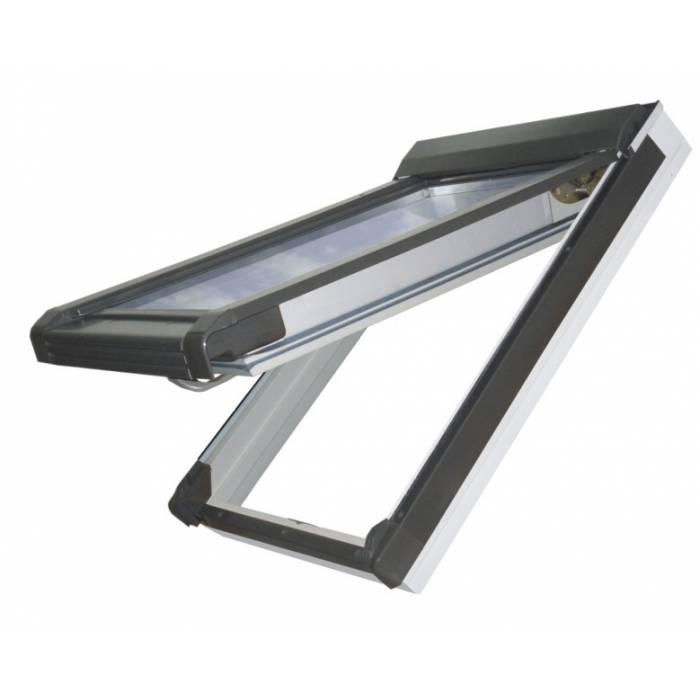 Sunlux PVC 55cm x 78cm Top Hung Roof Window