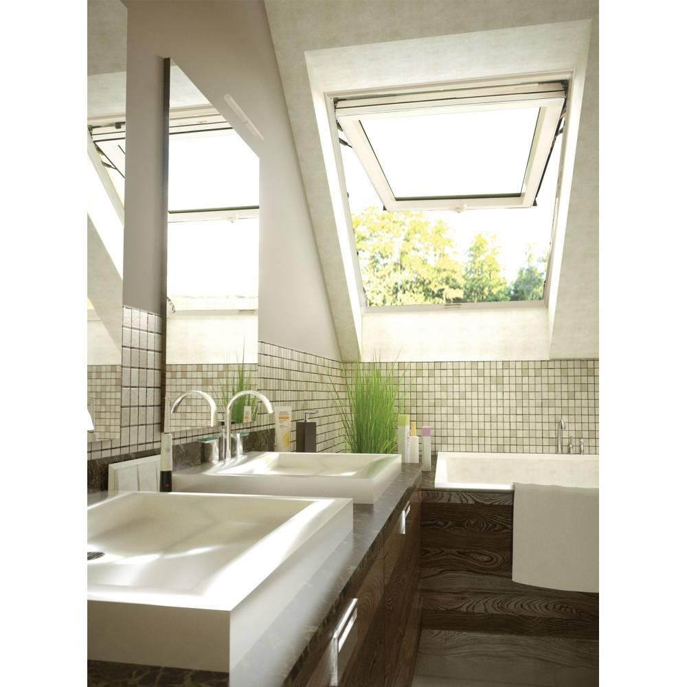 Sunlux Pvc 55cm X 98cm Top Hung Roof Window Sunlux