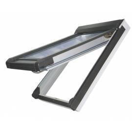 Sunlux PVC 78cm x 98cm Top Hung Roof Window