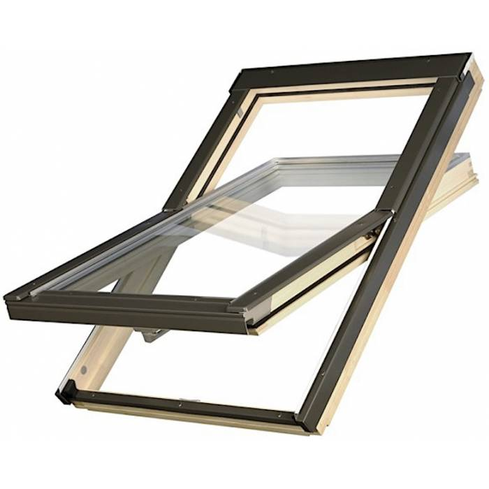 Optilight 78 x 98cm Centre Pivot Roof Window