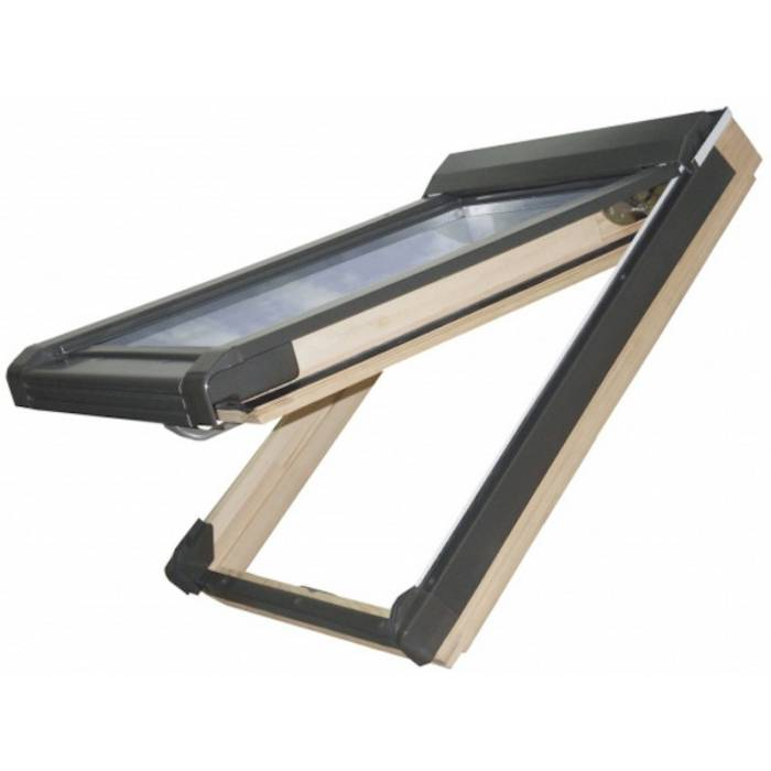 Sunlux Pine 55cm x 98cm Top Hung Roof Window