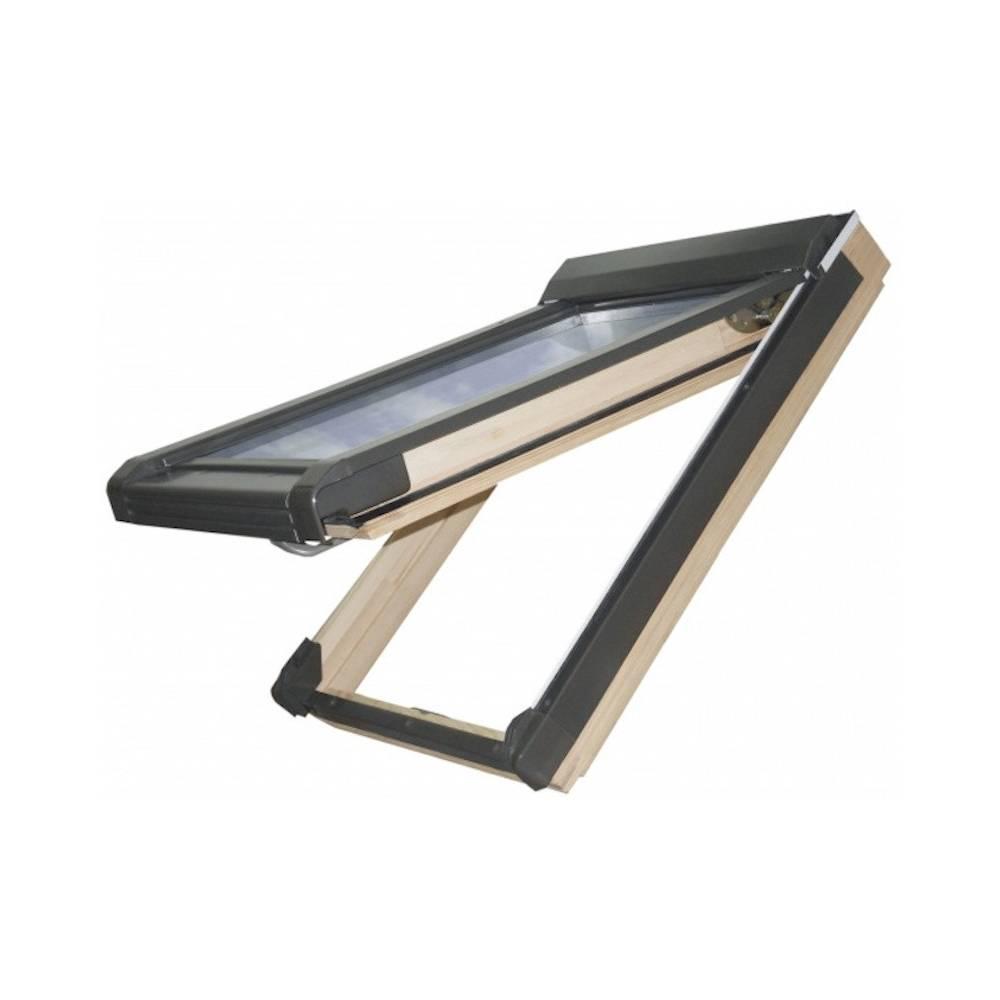sunlux pine 78cm x 98cm top hung roof window sunlux. Black Bedroom Furniture Sets. Home Design Ideas
