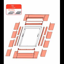 Slate Flashing TL 66 x 98cm for Optilight