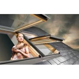 Fakro DMG 120x220 Manual Opening Flat Roof Window Double Glazed (£ 2,275.00)