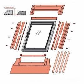 Fakro DEG 80x80 Electric Opening Flat Roof Window Double Glazed (£ 1,138.00)