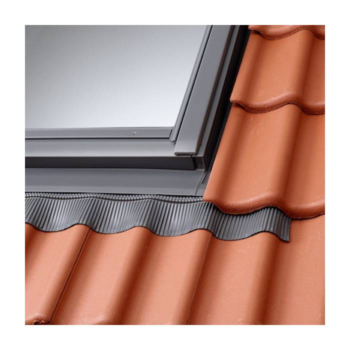 VELUX EDW CK04 Single Deep Profile Tile Flashing 55cm x 98cm