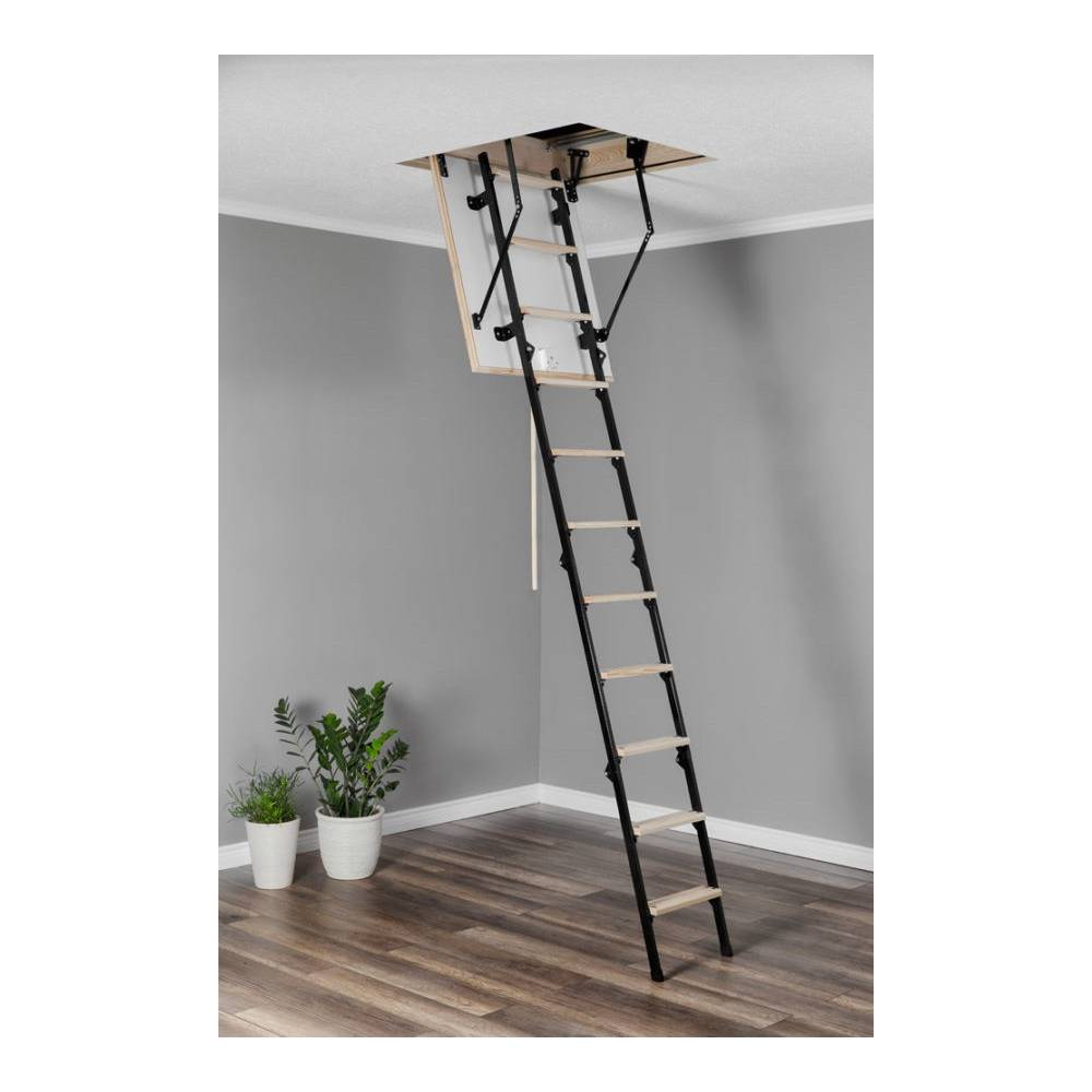 Mini 60cm X 80cm Wooden Metal Folding Loft Ladder Amp Hatch