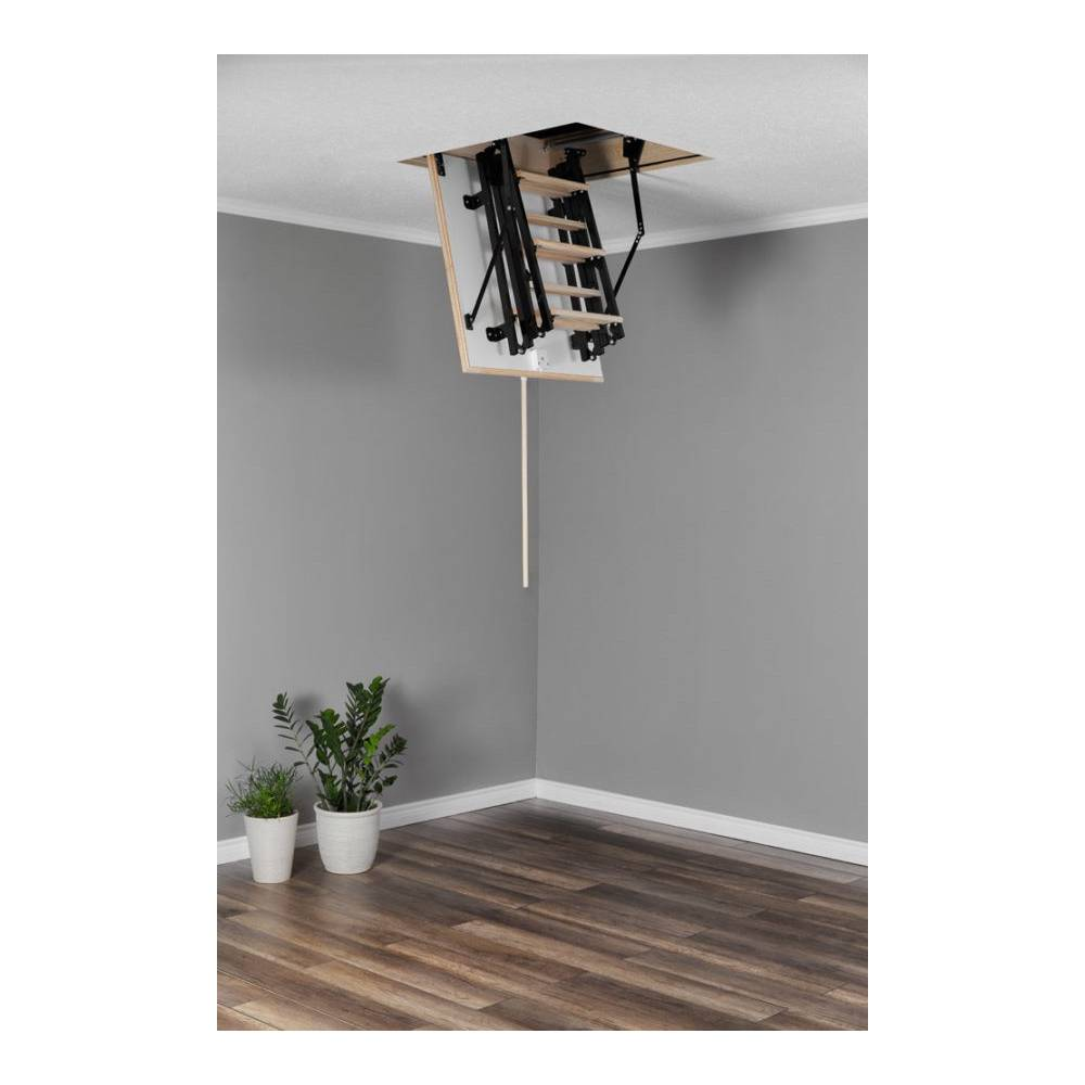 Mini 60cm X 80cm Wooden Metal Folding Loft Ladder Amp Hatch