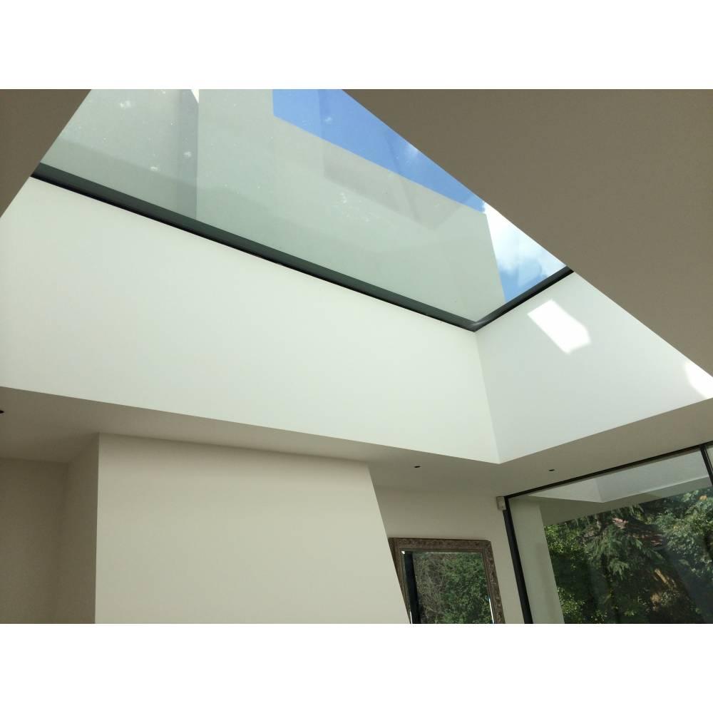 Sunlux 120cm X 120cm Flat Glass Rooflight Fixed Double