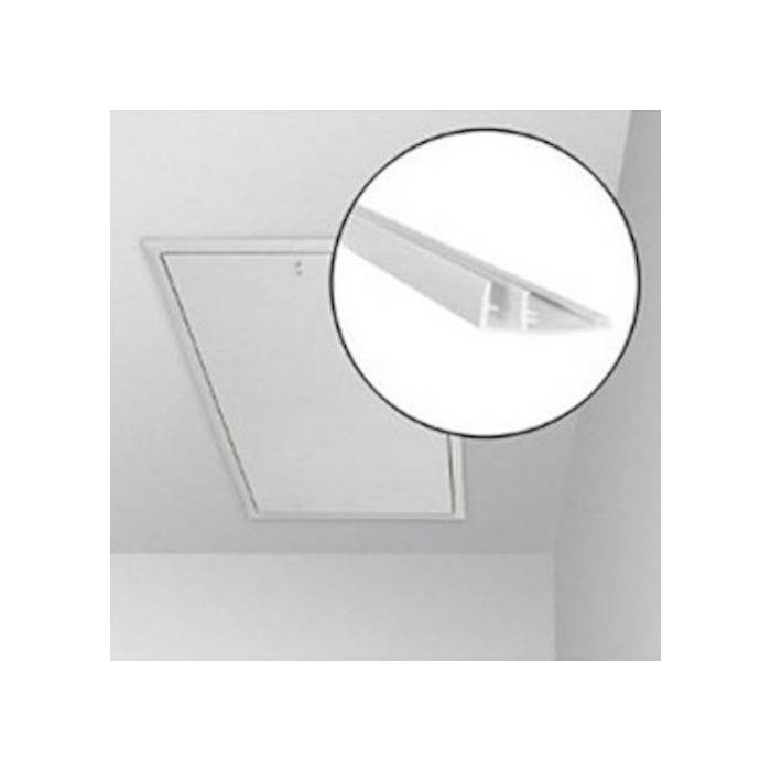 60cmx120cm White PVC Ceiling Hatch Lining Trim Kit