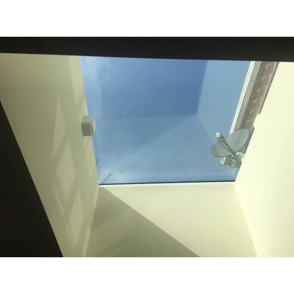 Sunlux 100cm X 120cm Flat Glass Rooflight Electric Double