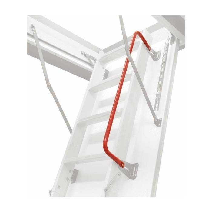 Red Handrail for Optistep 4 Section loft ladders