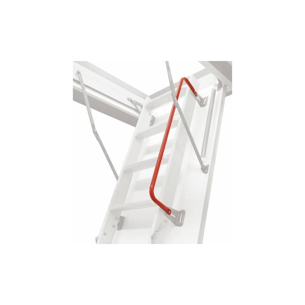 Red Handrail For Optistep 4 Section Loft Ladders Sunlux