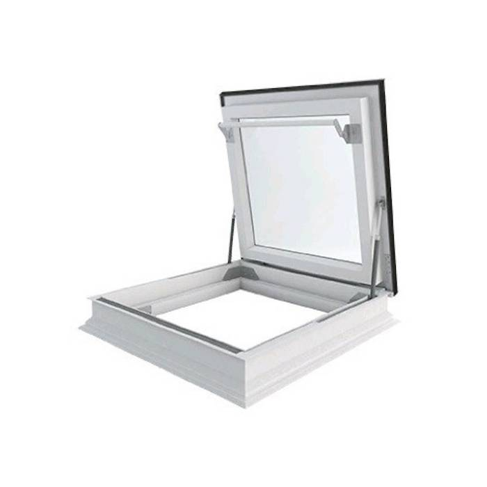 Fakro DRF 90cm x 90cm Flat Roof Access Window Triple Glazed