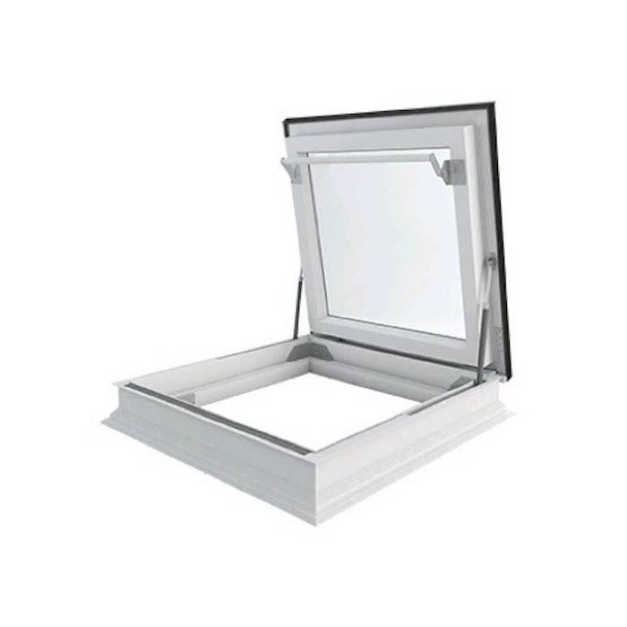 Fakro DRF 120cm x 120cm Flat Roof Access Window Triple Glazed