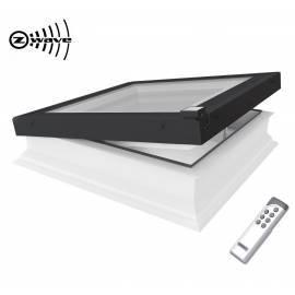 Fakro DEG 70 x 70cm Electric Opening Flat Roof Window Double Glazed