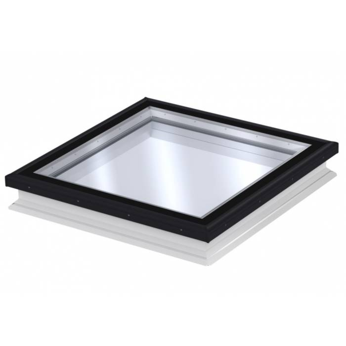 Velux CFP 080080 Fixed Flat Glass Roof Window 80cm x 80cm CFP 0073QV + ISD 2093