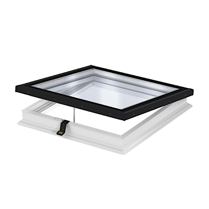 Velux Integra CVP 100100 Electric Flat Glass Rooflight 100cm x 100cm CVP 0673QV + ISD 2093