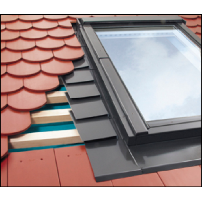 Fakro Epv C 04 66x118 Conservation Plain Tile Flashing