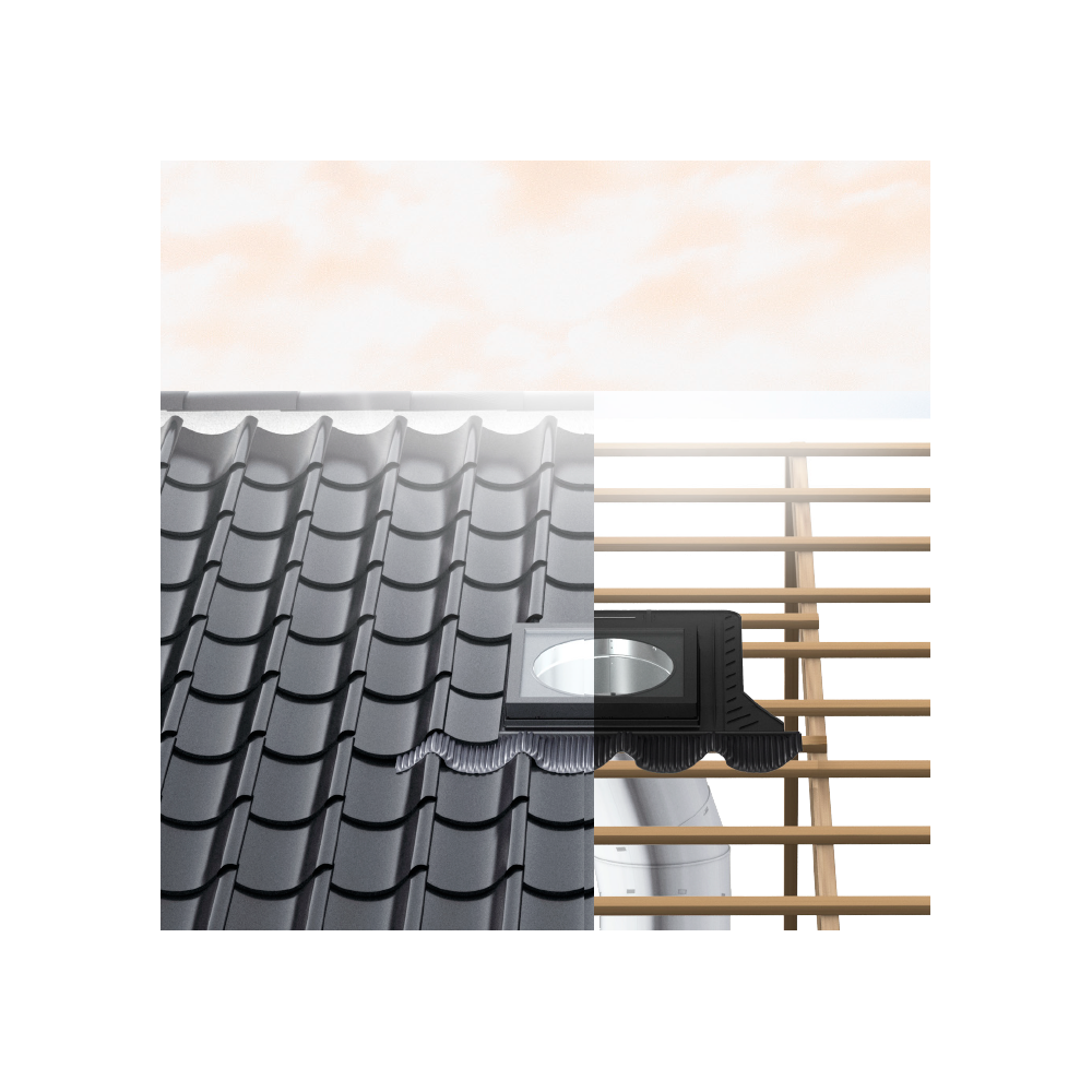 Velux Tcr Ok14 1010 14 Quot Rigid Flat Roof Sun Tunnel Sunlux