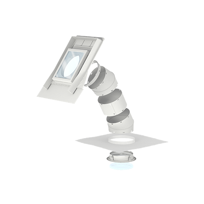 """Velux TWF OK14 2010 14"""" Flexible Sun Tunnel For Tiles up to 120mm in profile"""