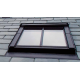 Fakro FTU-V/C P2 78cm x 98cm White Polyurethane Centre Pivot Conservation Roof Window