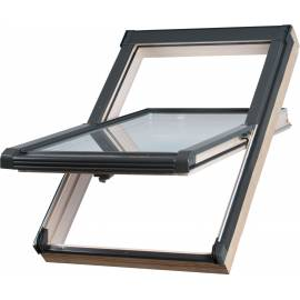Sunlux Timber 134cm x 98cm Centre Pivot Roof Window