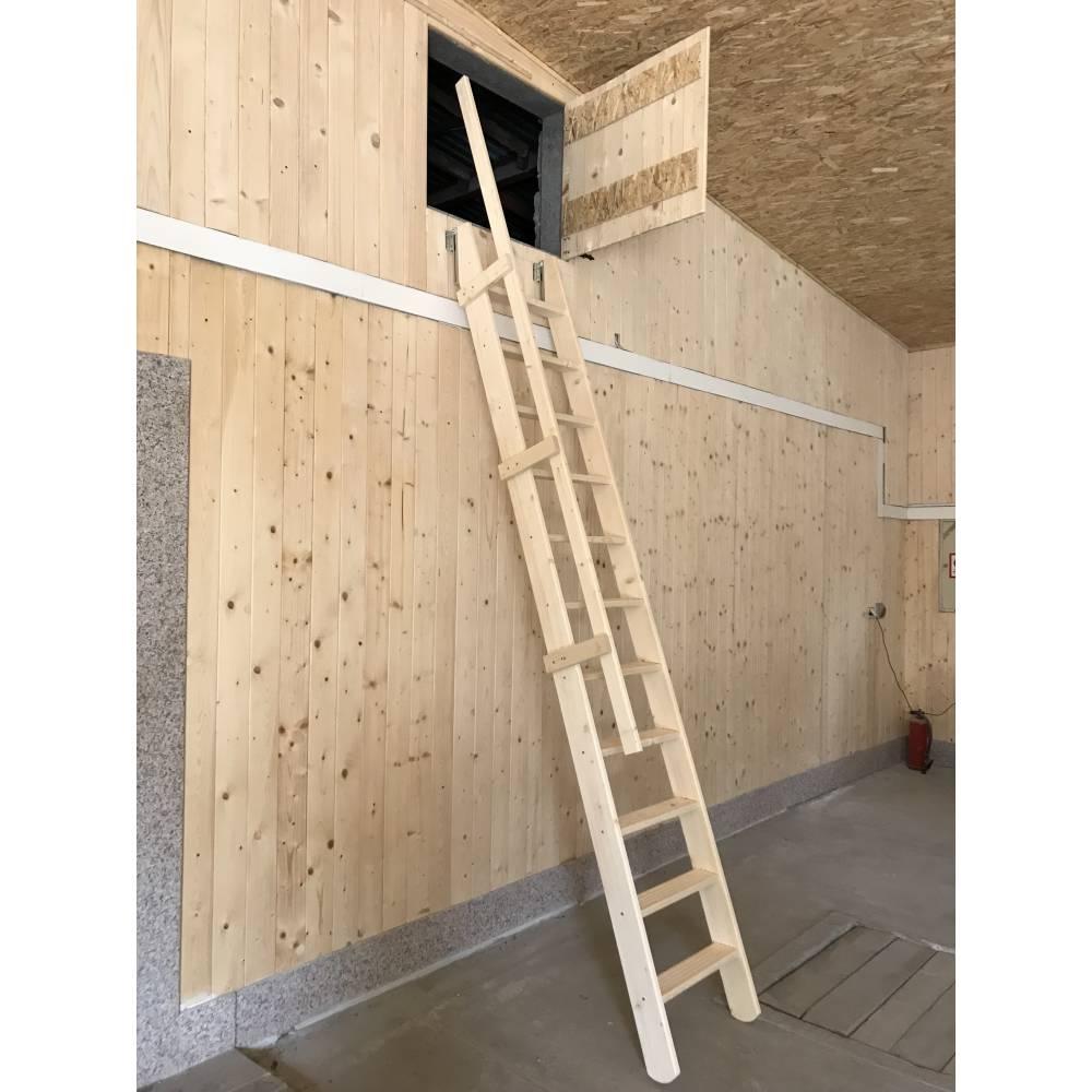 Attic 55 wooden folding mezzanine loft staircase