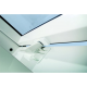 Optilight PVC 55cm x 78cm Centre Pivot Roof Window