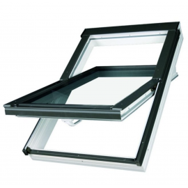 Optilight PVC 78cm x 98cm Centre Pivot Roof Window