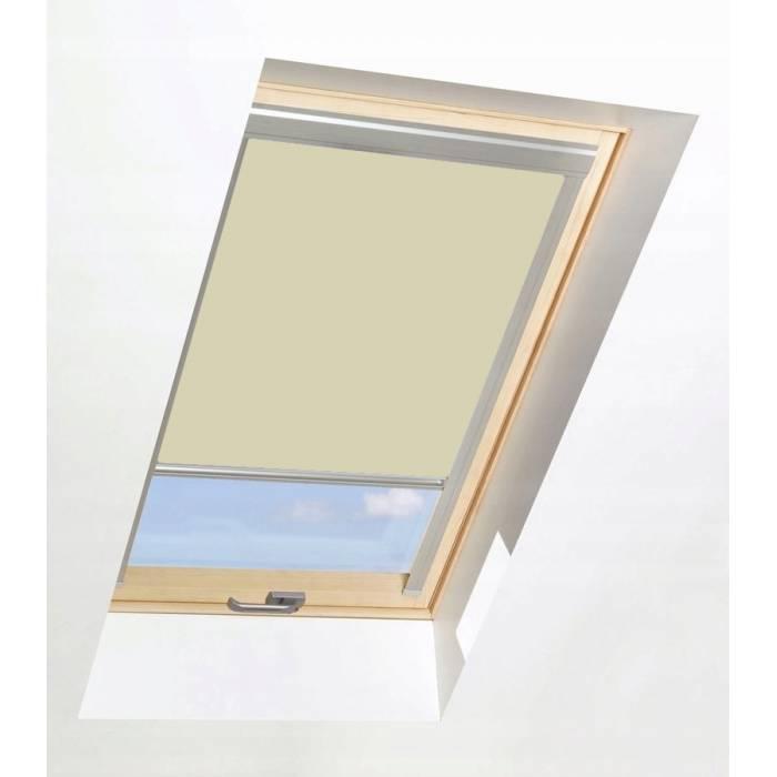 Roller Blinds ORF 66cm x 118cm for all OptiLight Windows Beige/Blackout