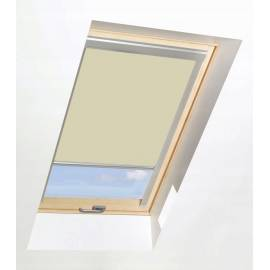 Roller Blinds ORF 78cm x 98cm for all OptiLight Windows Beige/Blackout