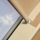 Roller Blinds ORF 55cm x 78cm for all OptiLight Windows Beige/Blackout
