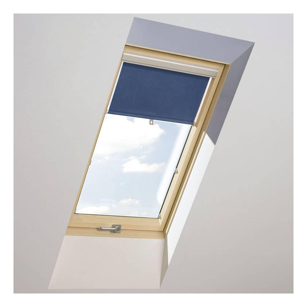 Roller Blinds Aub 78cm X 98cm Blue Transparent For Optilight Fakro Velux Windows