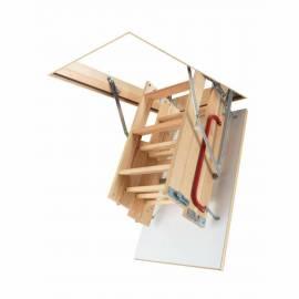 4-Section 68cm X 92cm Wooden Loft Ladder & Hatch (H up to 280CM)