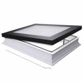 Fakro DMF 60cm x 60cm Manual Flat Roof Window & Kerb Triple Glazed