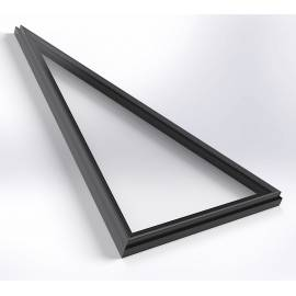 Bespoke Flatglass Rooflights any shape and size double or triple glazed