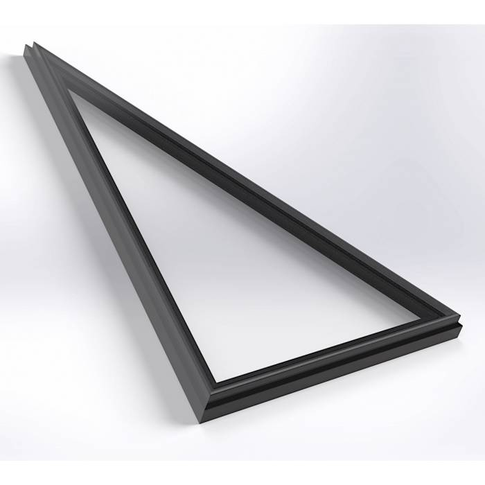 Sunlux 75cm x 75cm Flat Glass Rooflight Fixed Double Glazed - Flat Roof