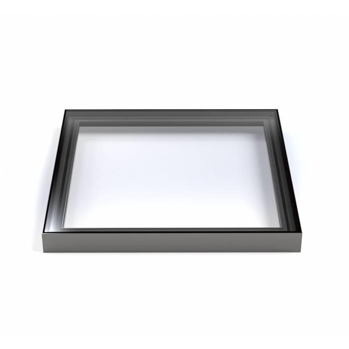 Sunlux 100cm x 100cm Flat Glass Rooflight Fixed Double Glazed - Flat Roof