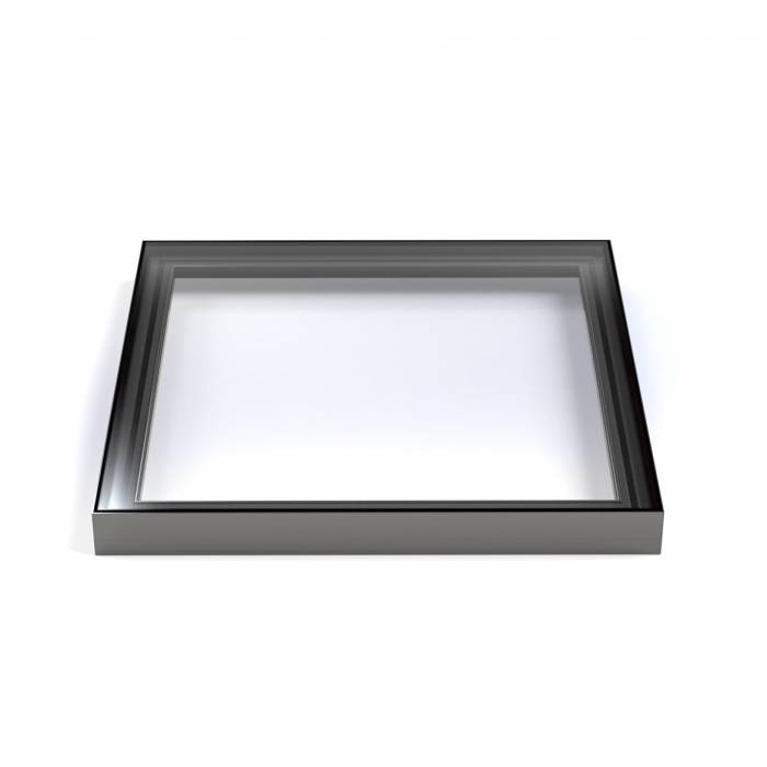 Sunlux 100cm x 180cm Flat Glass Rooflight Fixed Double Glazed - Flat Roof