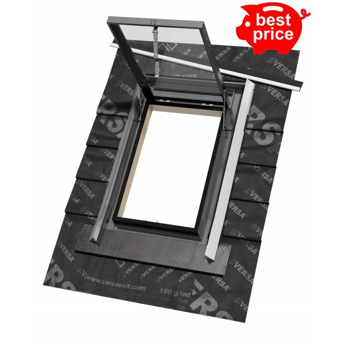 VERSA 47cm x 73cm Top Hung Skylight Access Roof window - Premium
