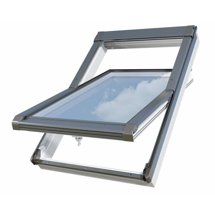 Sunlux PVC 78cm x 118cm Centre Pivot Roof Window