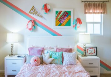 improve kids room with the skylights