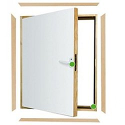 L shape loft doors