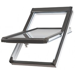 PVC roof windows